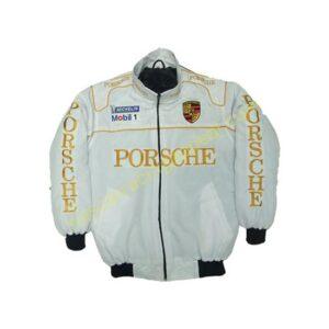 Porsche Racing Jacket White