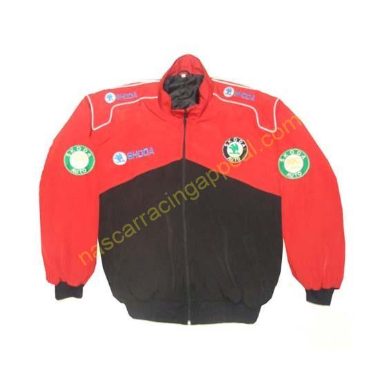 Skoda Auto Racing Jacket Red