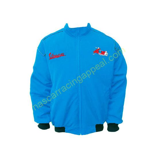 Vespa Motorcycle Jacket Blue