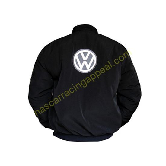 Volkswagen Black Racing Jacket