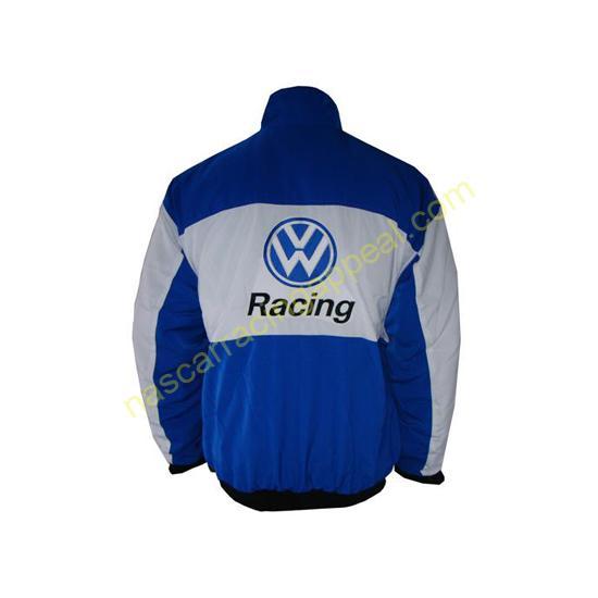 Volkswagen Blue White Racing Jacket