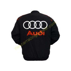 Audi Racing Jacket Black back