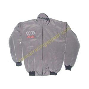 Audi Racing Jacket Dark Gray front