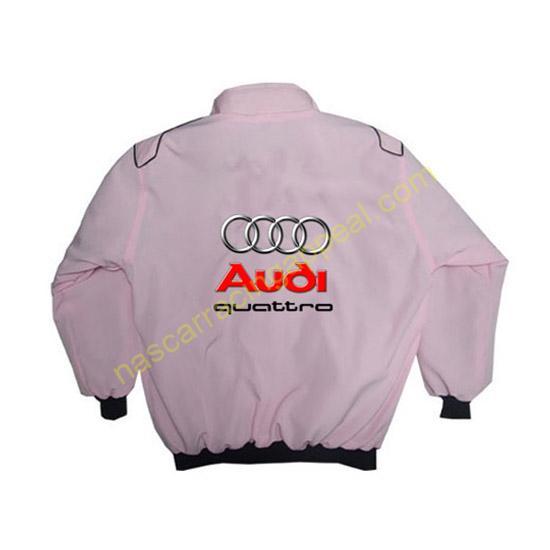 Audi Quattro Racing Jacket Pink back