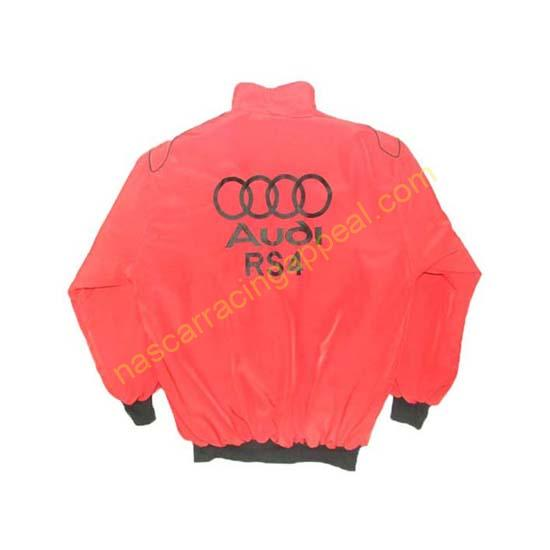 Audi RS4 Racing Jacket Red back