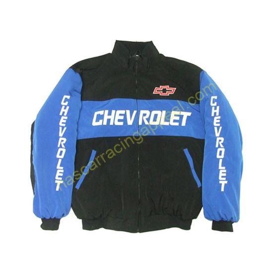 Chevrolet Blue Black Racing Jacket