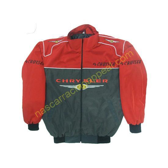Chrysler PT Cruiser Racing Jacket Red and Dark Gray
