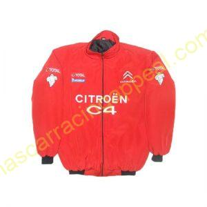Citroen C4 Racing Jacket Red