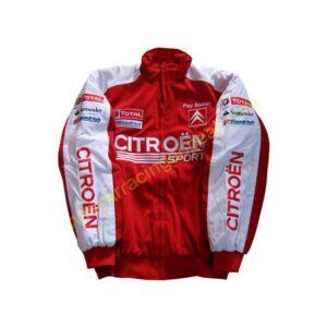 Citroen C4 Racing Jacket White & Red