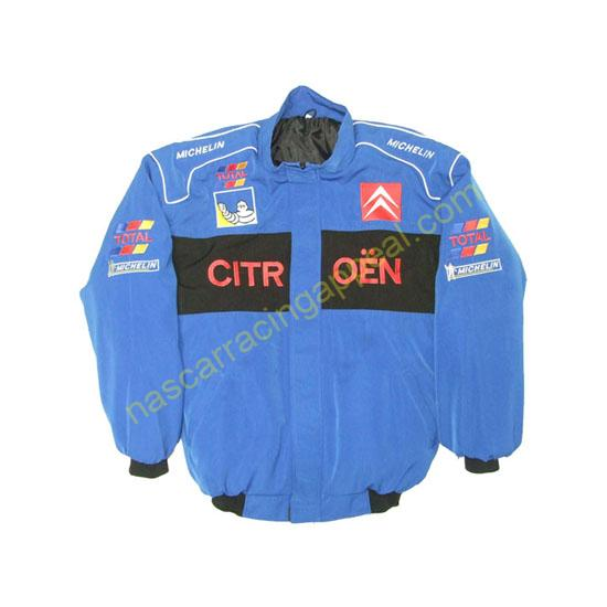 Citroen Racing Jacket Blue and Black