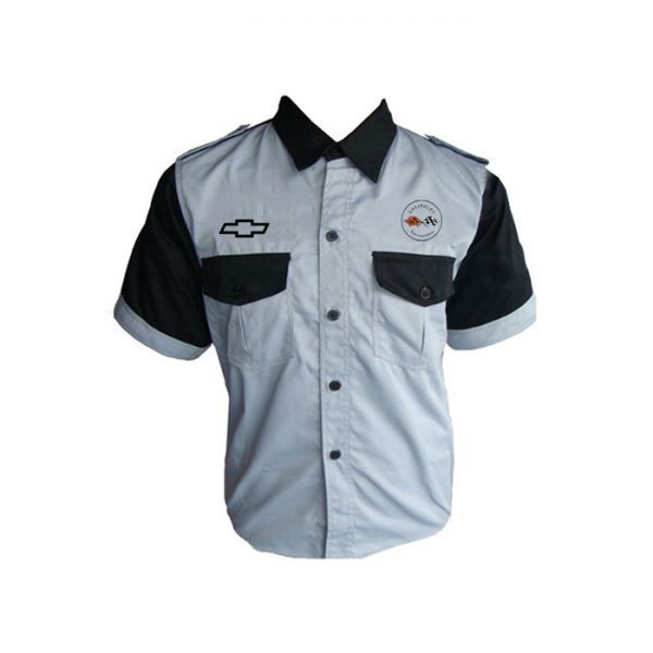 Corvette C2 Crew Shirt Gray