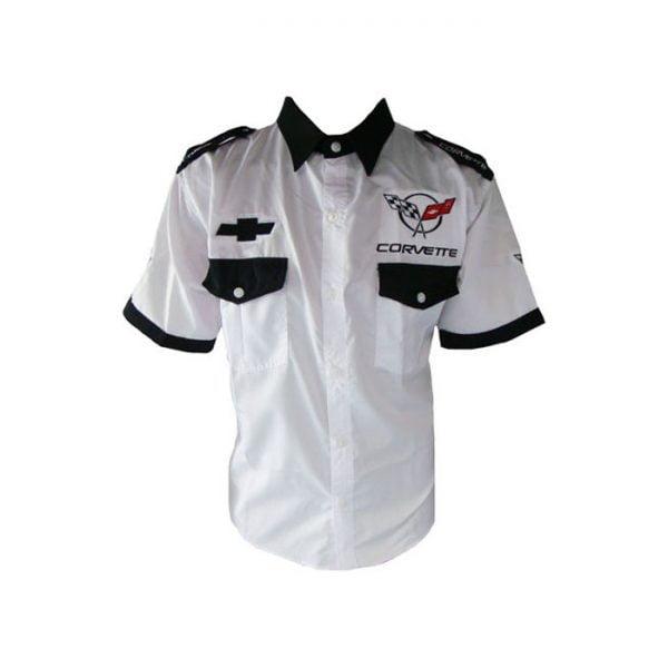 Corvette C5 Crew Shirt White