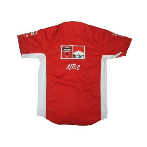 Ducati Alice Red Crew Shirt Shop