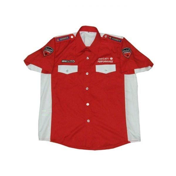 Best Ducati Alice Red Crew Shirt