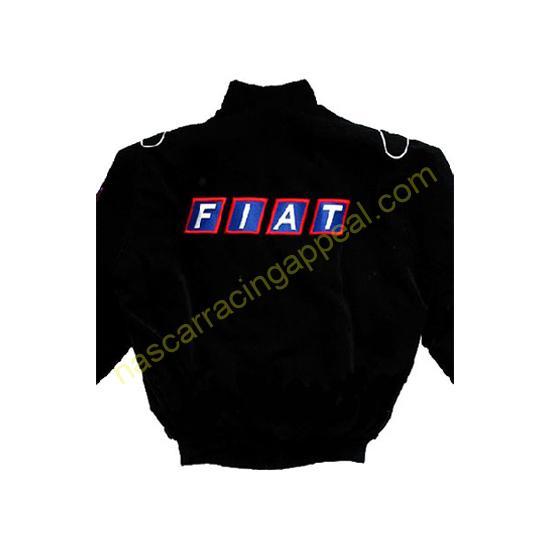 Fiat Racing Jacket Black