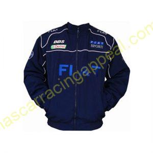 Fiat Racing Jacket Dark Blue