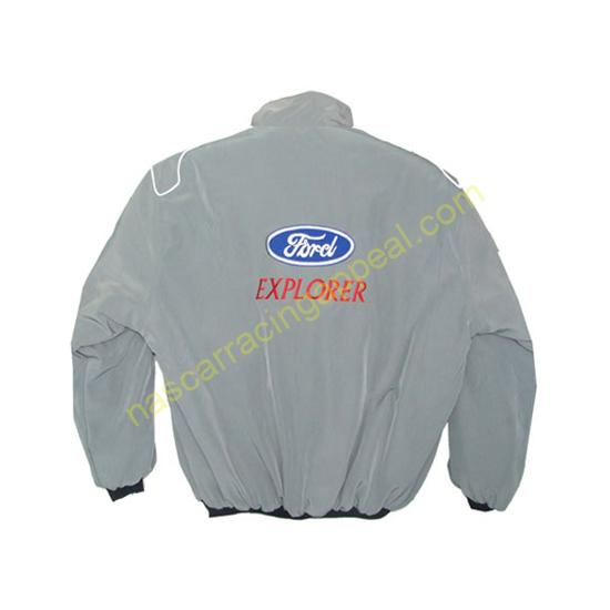 Ford Explorer Gray Racing Jacket
