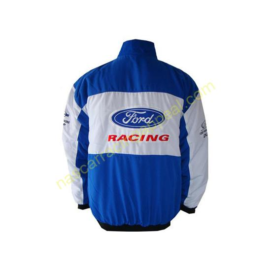 Ford FPR Blue White Racing Jacket