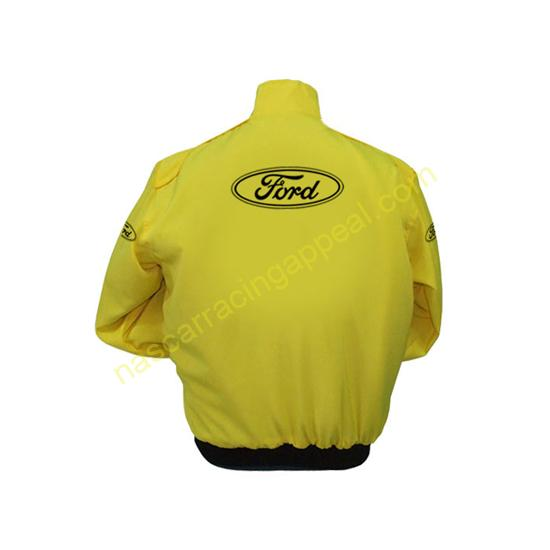 Ford Yellow Jacket back