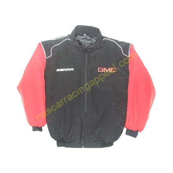 GMC Sierra Racing Jacket Black and Red