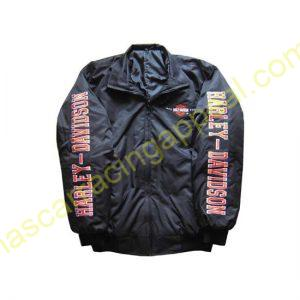 Harley Davidson Motorcycle Jacket Black front