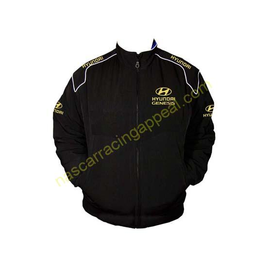 Hyundai Genesis Racing Jacket Yellow and Black