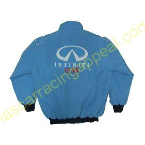 Infiniti G35 Racing Jacket Light Blue
