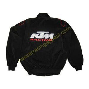 KTM Motorcycle Jacket Black front