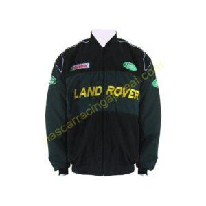 Land Rover Dark Green and Black Jacket Coat