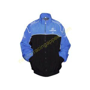 Lexus ES Racing Jacket Black and Blue