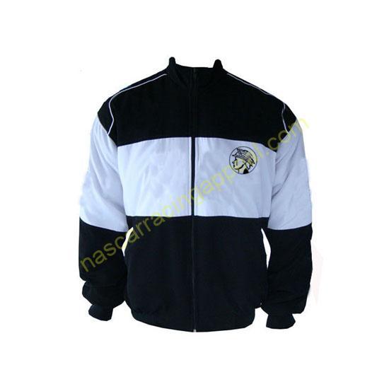 Marauder Racing Jacket Black and White