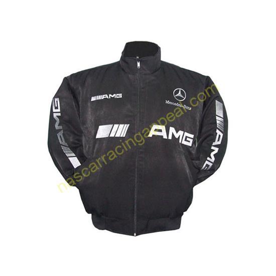 Mercedes Benz AMG Racing Jacket Black