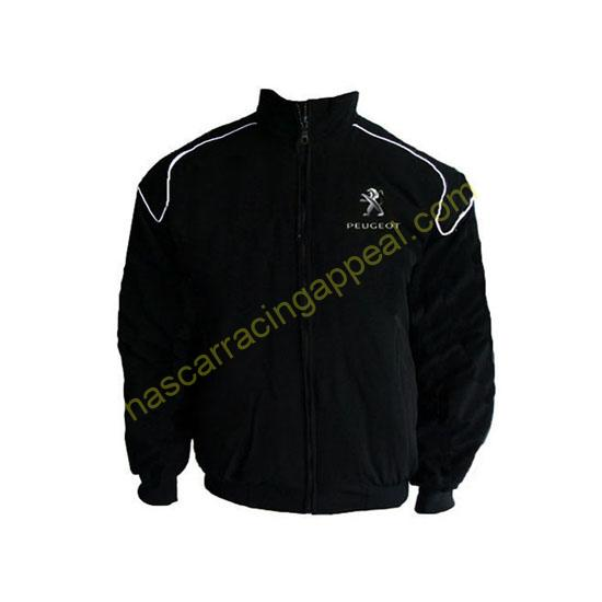 Black Jacket with piping Front