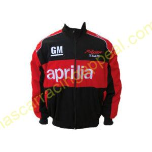 Aprilia Racing Team Red and Black Jacket
