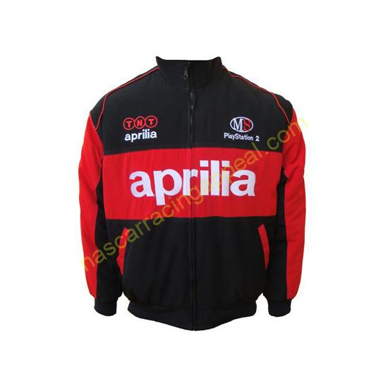 Aprilia TNT MS Black and Red Racing Jacket