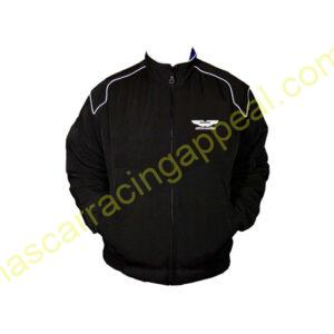 Aston Martin Black Racing Jacket Coat