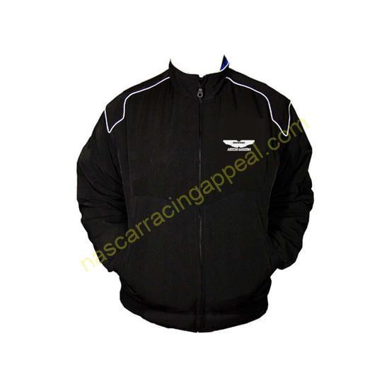 Aston Martin Black Racing Jacket Coat