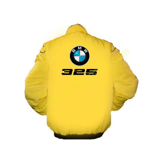 BMW 325 Racing Jacket Yellow