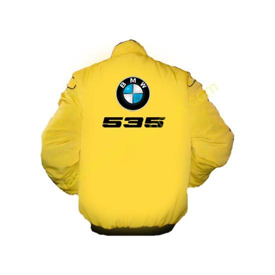 BMW 535 Racing Jacket Yellow