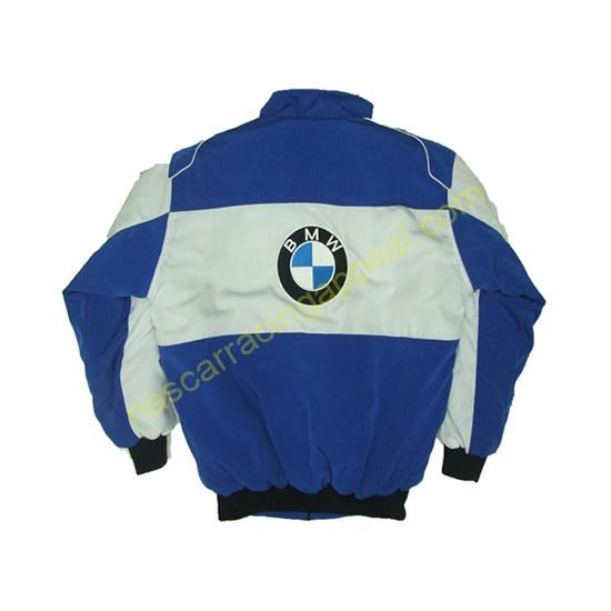 BMW Racing Jacket Royal Blue and White