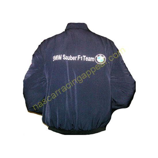 BMW darkblue with white Jacket coat