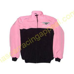 Bentley Racing Jacket Pink and Black