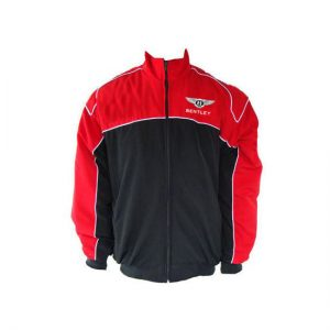 Bentley Racing Jacket Red and Black
