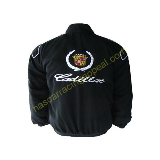 Cadillac Racing Jacket Black
