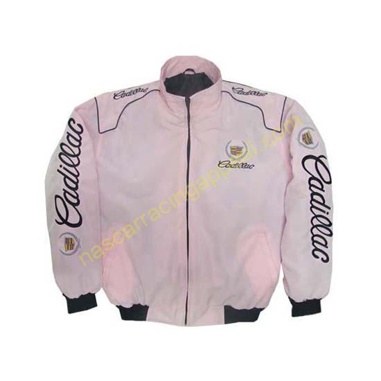 Cadillac Racing Jacket Light Pink