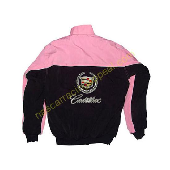 Cadillac Racing Jacket Pink and Black