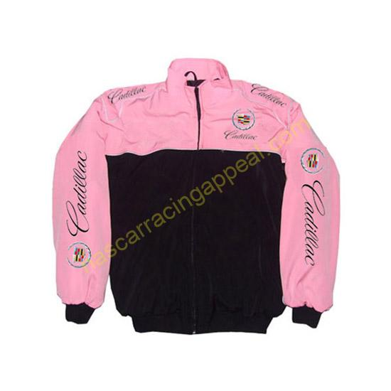 Cadillac Racing Jacket Pink and Black