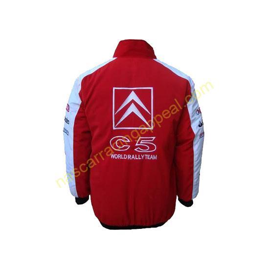 Citroen C5 Red & White Jacket