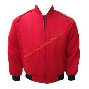 Dodge Motor Sport Red Racing Jacket
