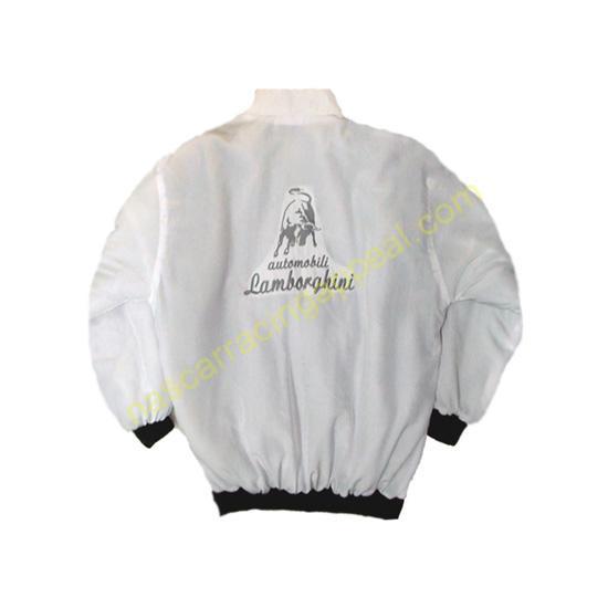 Lamborgini Racing Jacket White